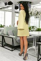 Женское Платье (141)701. (7 цветов), Ткань: креп. Размеры: 42, 44, 46, 48, 50, 52., фото 3