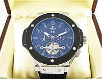 Часы Hublot Big Bang Tourbillon 45mm Silver/Black (Механика). Реплика, фото 1