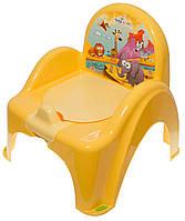 Горшок-стульчик Tega Safari SF-010 124 yellow