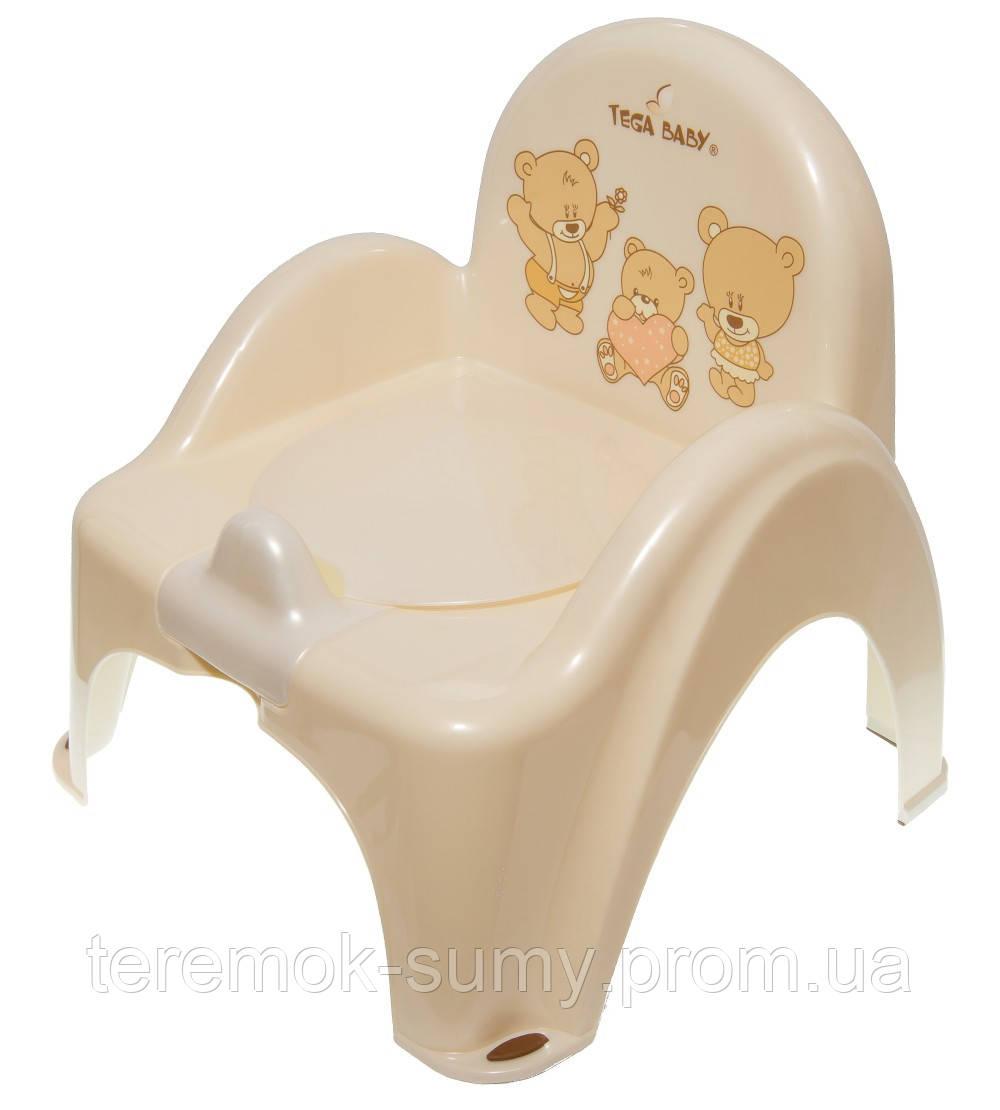 Горшок-стульчик Tega Teddy Bear MS-012 119 beige