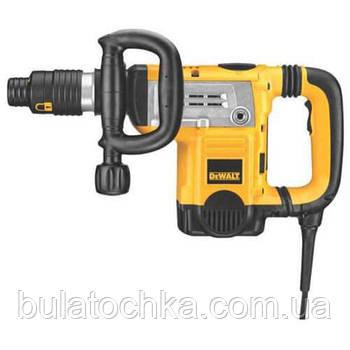 Молоток отбойный SDS-MAX 1250 Вт 6.1 кг DeWALT D25831K