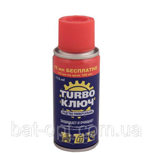 Смазка универсальная Turbo ключ WD-40 115мл