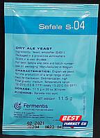 Пивные дрожжи Safale S-04, 11,5г