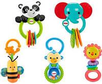 Погремушки - первые игрушки малыша.