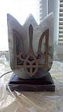 Светильник соляной Герб Украины, фото 2