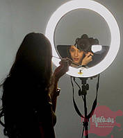 Кольцевая светодиодная лампа визажиста, фото 1