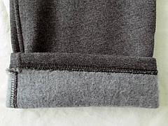 """Мужские очень теплые штаны с начёсом ткань Турция """"антрацит"""" темно-серые с логотипом, фото 3"""