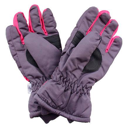 Детские зимние термоперчатки для девочки от 7 до 12 лет, фото 2