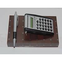 Набор ручка и калькулятор