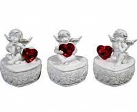 Шкатулка керамическая с ангелами