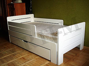 """Подростковая кровать """"Джек"""" из массива дерева"""