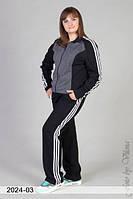 Модный спортивный костюм большого размера