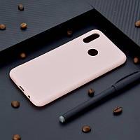 Чехол Huawei P Smart Plus / Nova 3i / INE-LX1 силикон soft touch бампер светло-розовый