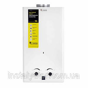 Колонка газовая дымоходная Thermo Alliance JSD20-10CR 10 л белая