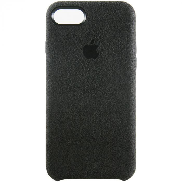 "Накладка iPhone 8 ""Alcantara"" Черная"