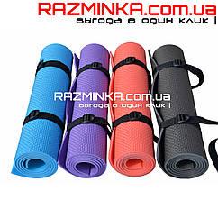 Детский коврик Fitness 140х50см, толщина 5мм
