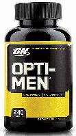 Витамины для мужчин Опти мен Optimum Nutrition Opti-Men Multivitamin 240 tabs