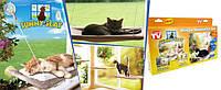 Подвесная Оконная Лежанка для Кошек Sunny Seat Window Cat Bed , фото 1