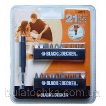 Набір з 21 предмета BLACK+DECKER A7074