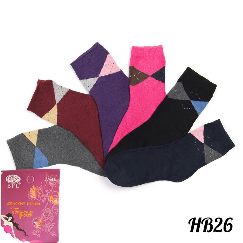 Носки женские махровые с термоэффектом BFL HB26 | 12 шт.
