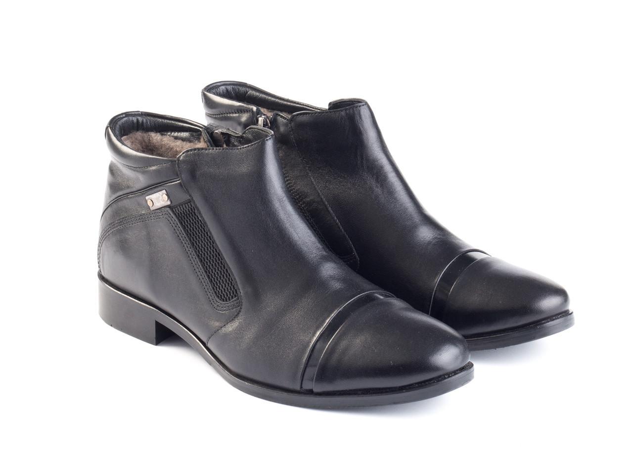 Ботинки Etor 9529-636 43 черные