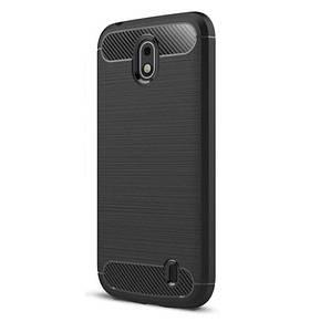 Чохол PRIMO Carbon Fiber для Nokia Series 1 Dual Sim Black