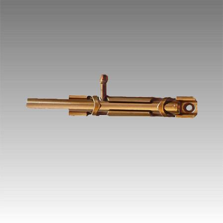 Шпингалет большой (золото) 110мм.