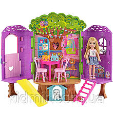 Кукла Барби клуб Челси Домик на дереве Barbie Club Chelsea Treehouse FPF83