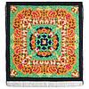 День осени златой 1813-14, павлопосадский платок шерстяной  с шелковой бахромой