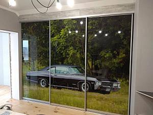 Шкаф-купе под заказ, по индивидуальным проектам, в короткие сроки. Фасад фотопечать.
