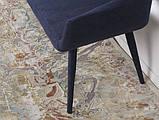 Кресло - банкетка BARCELONA (131х61х81 см) текстиль темно-синий Nicolas, фото 4