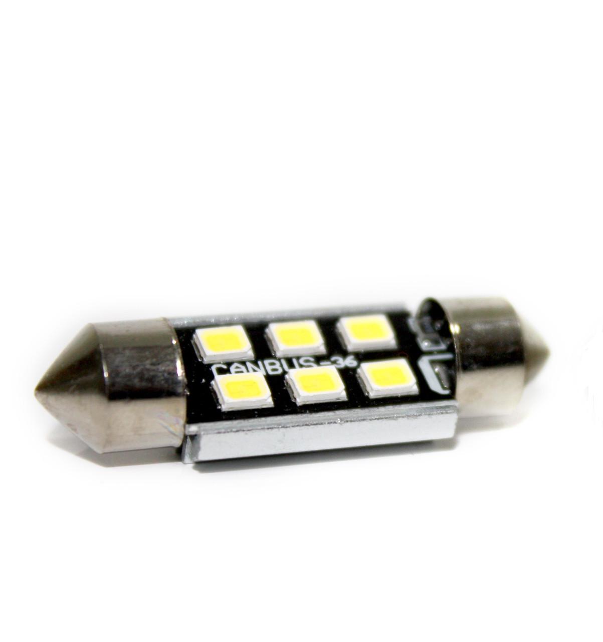 Автолампа LED BTLE1285, C5W, SMD2835, CANBUS, 39 мм