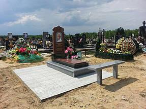 Гранитный памятник Житомир  (Образец 758) 1