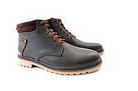 Черные ботинки с коричневыми вставками, фото 1