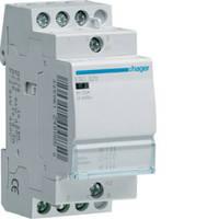 Контактор стандартный 25А, 3НО, 230В, 2М (Hager)