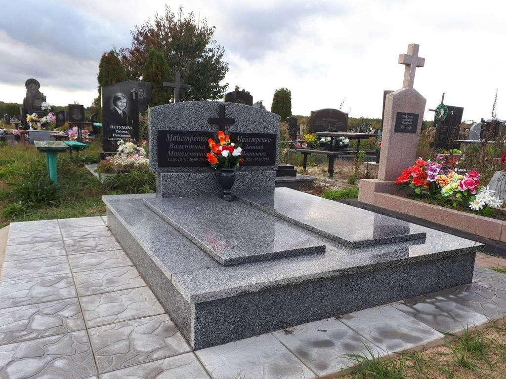 Памятник гранитный для двоих