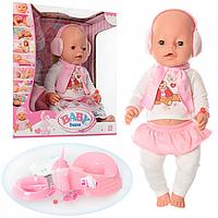 Пупс Baby born Бейби борн (10 аксессуаров, 8 функций), Беби борн, Бэби борн
