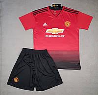 Футбольная форма Манчестер Юнайтед основная сезон 2018-2019 (красная)