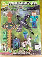 Герои Майнкрафт с мечем (большой набор)