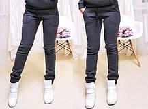 Тёплые модные штаны на флисе. Размеры от 42 до 52, Турция, фото 2
