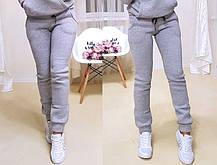 Тёплые модные штаны на флисе. Размеры от 42 до 52, Турция, фото 3