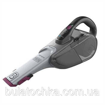 Пылесос аккумуляторный BLACK+DECKER DVJ325BFS