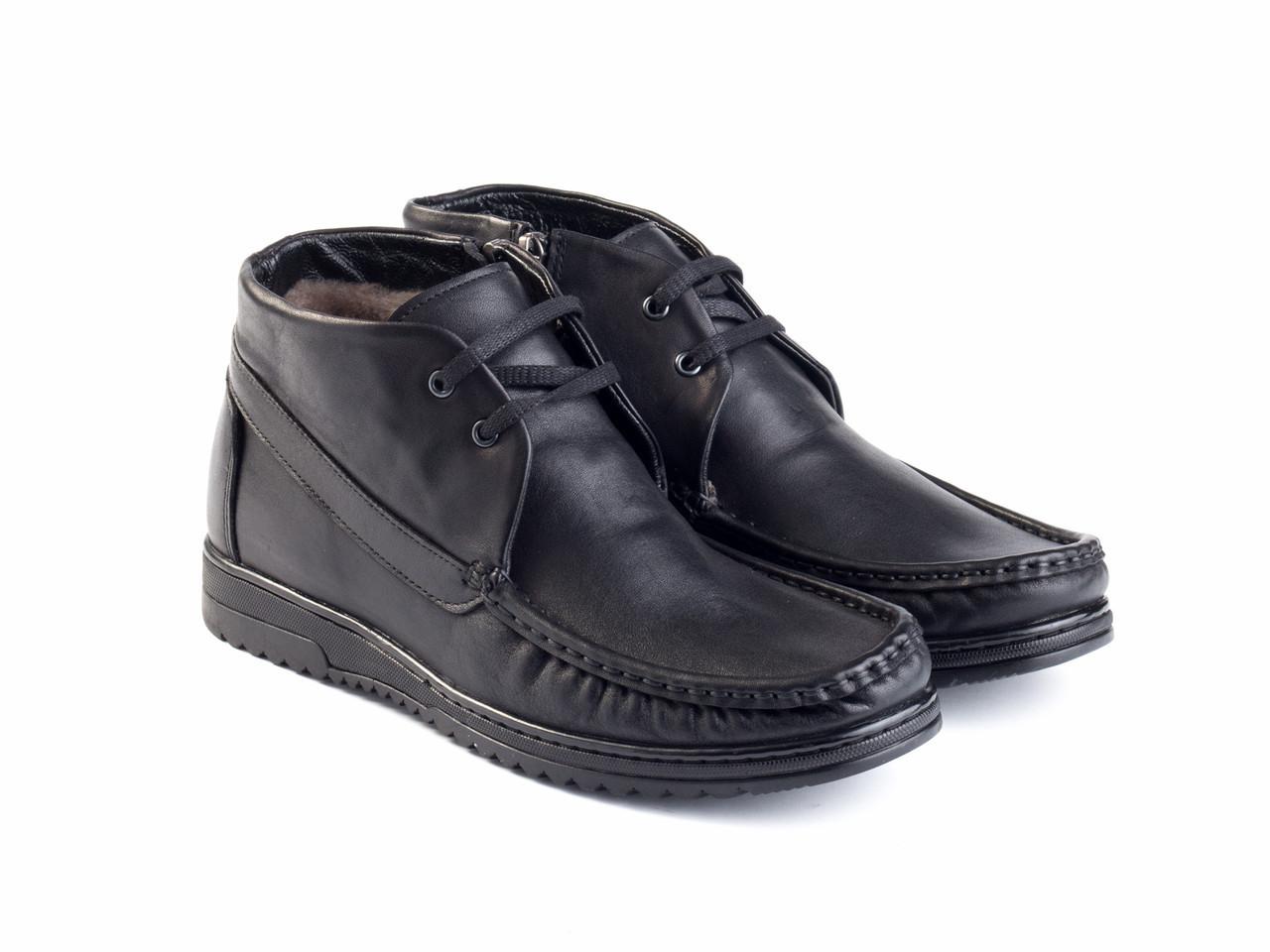Ботинки Etor 13987-8932 43 черные