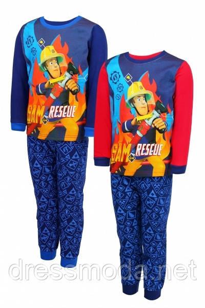 Пижама для мальчиков Fireman Sam 98-128 р. р.