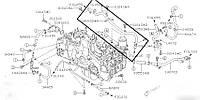 Трубка системи охолодження Subaru Forester S12, 2007-2012, 14050AA620