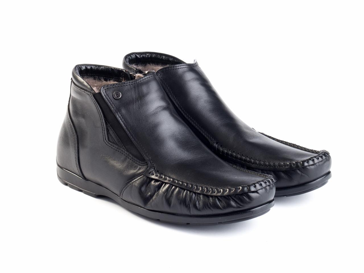 Ботинки Etor 14668-7383 43 черные