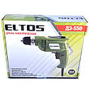 Дрель электрическая Eltos ДЭ-550, фото 8