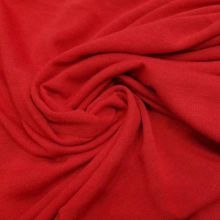 Трикотаж ангора тонкая красная, фото 2