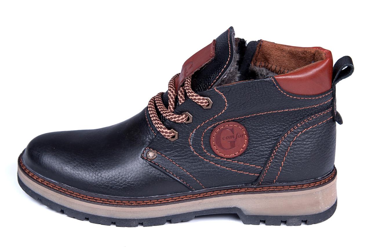 Мужские зимние кожаные ботинки Asl GS Flotar style  продажа, цена в ... 7f42fb876c8