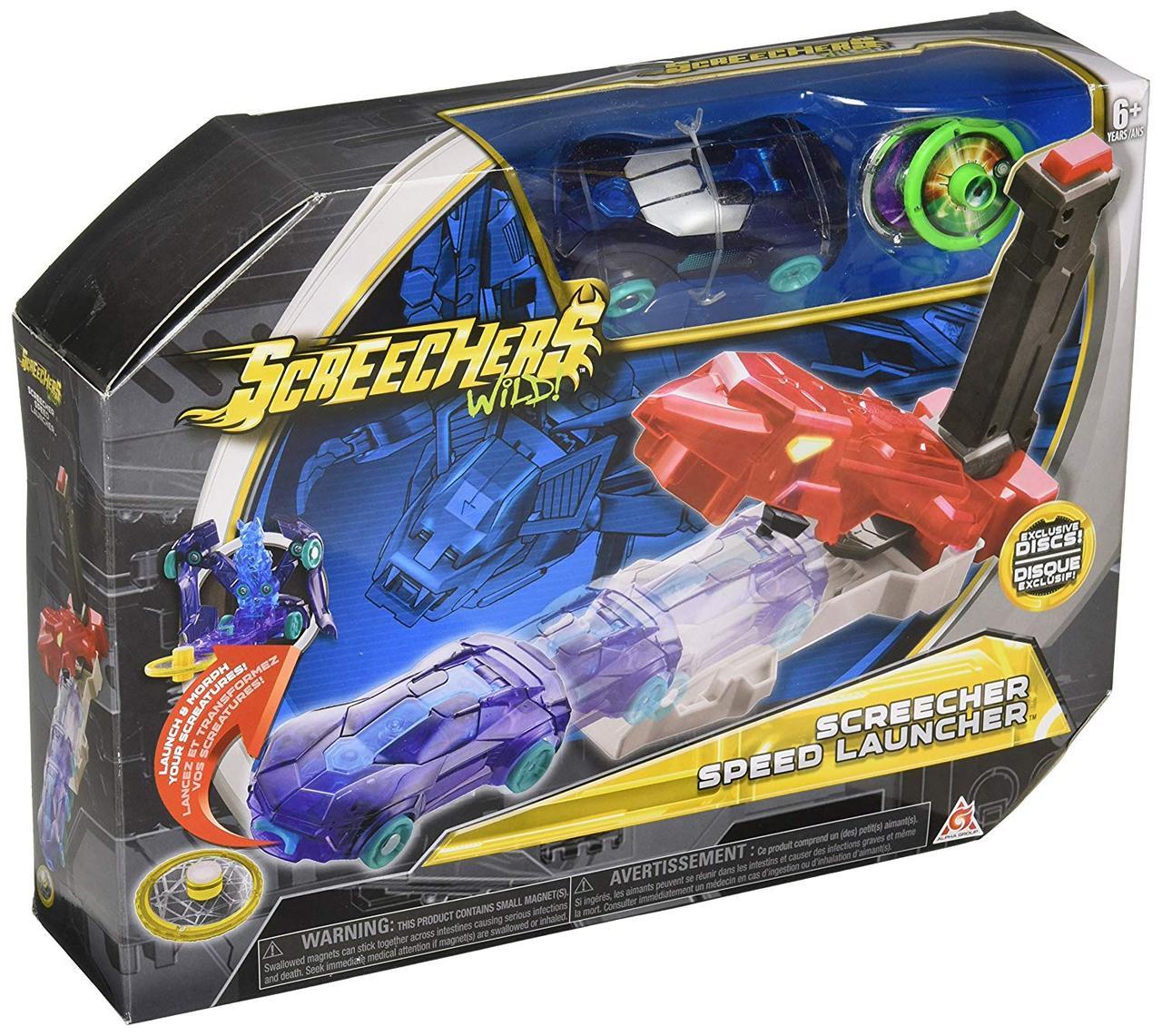 Игровой набор Дикие Скричеры Пускатель Авто - Screechers Wild